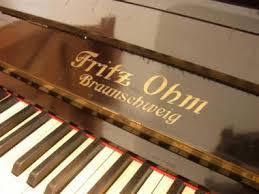 Gebrauchtes Klavier der Marke Fritz OHM, GEBRAUCHTE KLAVIERE Raum ... - 1246110813-bild
