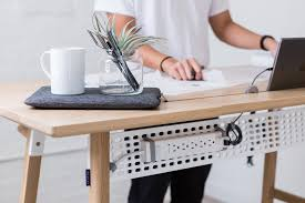 modern standing desk designs and extensions for homes and offices