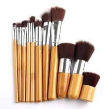 bamboo handle makeup brushes set grab deals