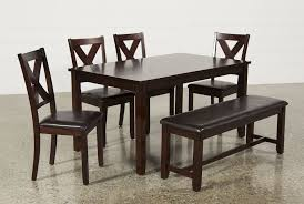 Round Dining Table Sets For 6 Dakota 6 Piece Dining Set Living Spaces