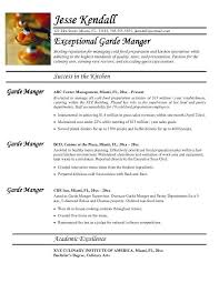 Pastry Chef Resume Examples by Chef Resume Template Billybullock Us