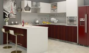 Kitchen Furniture Online India Acrylic Vs Laminate What U0027s The Best Finish For Kitchen Cabinets