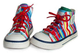 Picture of kids high top sneakers