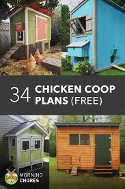 How To Build A Storage Shed Plans Free by 61 Diy Chicken Coop Plans That Are Easy To Build 100 Free