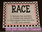 race acronym for writing