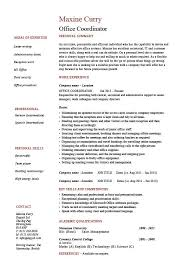 Construction Project Coordinator Resume Sample by Office Coordinator Resume Example Sample Administration Areas