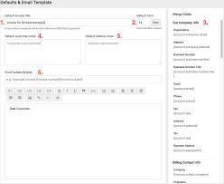 Bill For Services Template Create U0026 Edit Templates Accelo