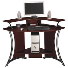 Computer Desks Black by Small White Corner Desk Black Painted Pine Wood Corner Desk