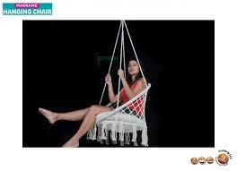 Macrame Hammock Chair Macrame Hanging Chair Mhc 0050 Tropicana Imports Australia U0027s