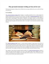 Top personal statement writing services   Stonewall Services