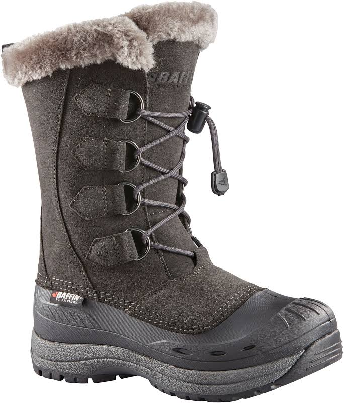 Baffin Chloe Winter Boot Charcoal 6 US 45100185-CAR-6