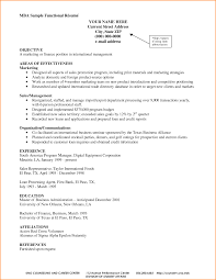 of resume for administrative position project management resume