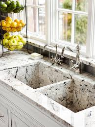 Custommade Granite Kitchen Sink To Match Countertops Sinks - Marble kitchen sinks