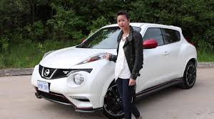 nissan juke white and red video road test nissan juke nismo rs driving ca youtube