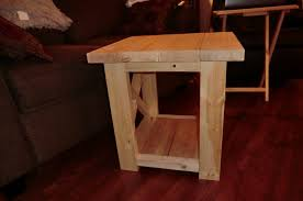 Bedroom Set Plans Woodworking Ana White Smaller Rustic X End Table Diy Projects
