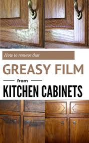 Remove Kitchen Cabinets by How To Remove That Greasy Film From Kitchen Cabinets Cleaning
