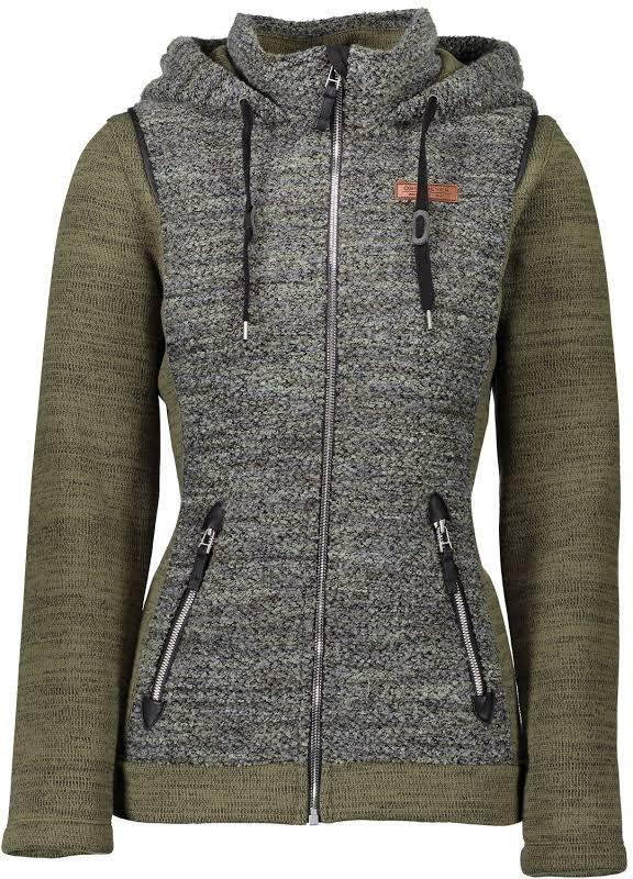 Obermeyer Ella Fleece Jacket Military Time Medium 17036-MILITARY TIME-M
