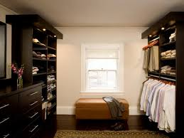 Space Saving Closet Ideas With A Dressing Table Closet Lighting Ideas And Options Hgtv