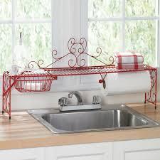 Kitchen Organization Ideas Pinterest Scrolling Over The Sink Shelf Kitchen Organizers Brylanehome
