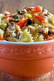 Pasta Salad Ingredients Tuna Pasta Salad Weight Watchers Kitchme