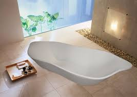 Stone Baths Bathroom Freestanding Stone Baths For Decorating Your Comfort