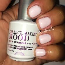 lechat perfect match mood color changing gel polish lavender