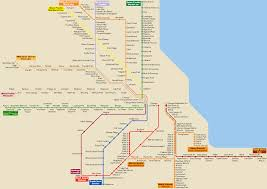Boystown Chicago Map by Chicago Transportation Map Chicago Map