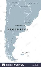 Political Map Of South America Argentina Political Map With Capital Buenos Aires National