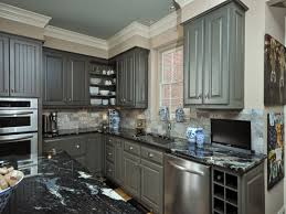 Best Paint For Kitchen Cabinets 2017 by Antique Grey Kitchen Cabinets Kitchen Cabinet Ideas