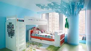 Modern Room Nuance Nice Blue Nuance Of The Blue Wall Decorations Girls Room Can Be