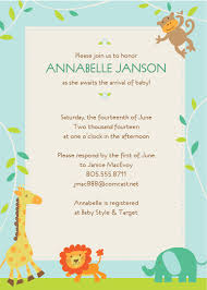 baby shower invitation template best template collection