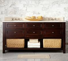 Pottery Barn Bathroom Storage by Pottery Barn Vs Lowes Bathroom Vanities Decor Look Alikes