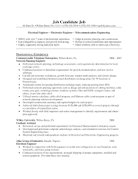 Sample Undergraduate Resume Resume Samples For Engineers Free Download