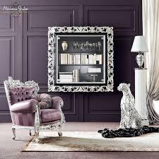wall mounted shelf classic metal bella vita modenese