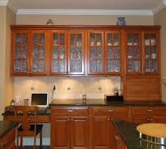 Kitchen Cabinet Doors Replacement Brown Textured Wood Cabinet Combine Black Countertop Kitchen