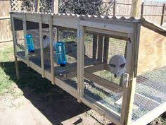 rabbit cage and rabbit hutch building plans farm pinterest