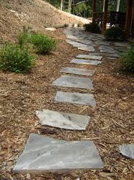 walkway ideas for backyard diy flagstone projects u0026 ideas diy