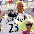 Becks Inducted into LA GALAXY | David Beckham, Victoria Beckham ...