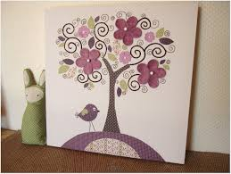 home decor tree wall painting diy room decor for teens pottery