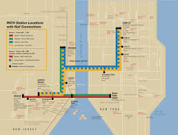 Subway Nyc Map by Map Of Nyc Commuter Rail Stations U0026 Lines