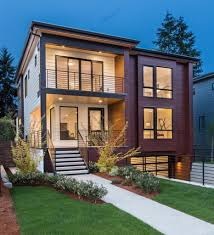 Small Modern Houses by Small Modern Houses Seattle Modern House Design Cozy Corner