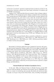 5 epidemiologic studies new citations and background on page 163