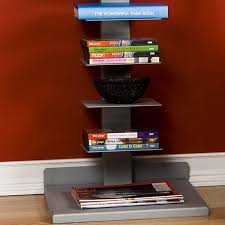 Container Store Bookshelves Amazon Com Spine Book Tower Kitchen U0026 Dining