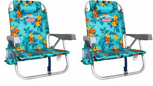 Tommy Bahamas Chairs 2 Tommy Bahama Backpack Cooler Beach Chairs Floral New No Sales