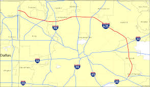 Google Map Dallas by Interstate 635 Texas Wikipedia