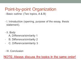 comparison and contrast essay introduction examples Comparison contrast order essay Edu Thesis amp Essay fpdf de Comparison contrast order essay