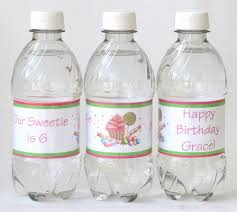how to make custom water bottle labels u2013 glorious treats