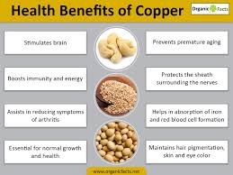 13 incredible benefits of copper organic facts