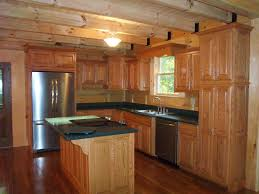 Kitchen Oak Cabinets by Log Home Kitchens Beautiful Custom Oak Kitchen With Solid