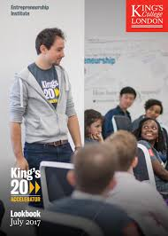 king u0027s20 accelerator lookbook by king u0027s entrepreneurship institute
